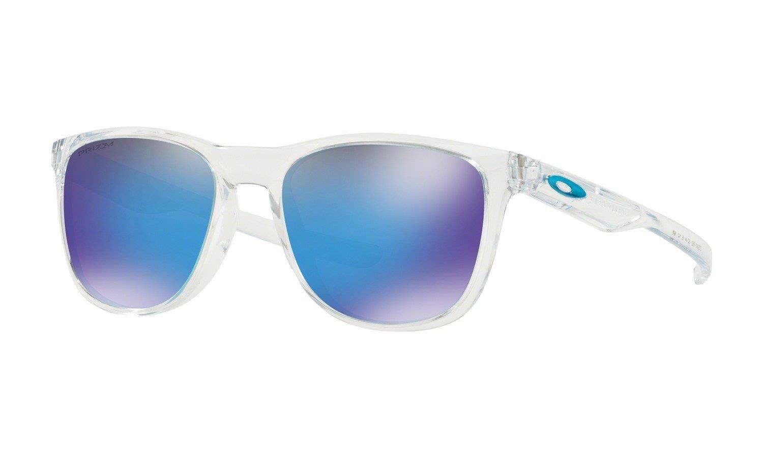 02a46dcccc Oakley Sunglasses TRILLBE X Polished Clear Prizm Sapphire OO9340-19 ...