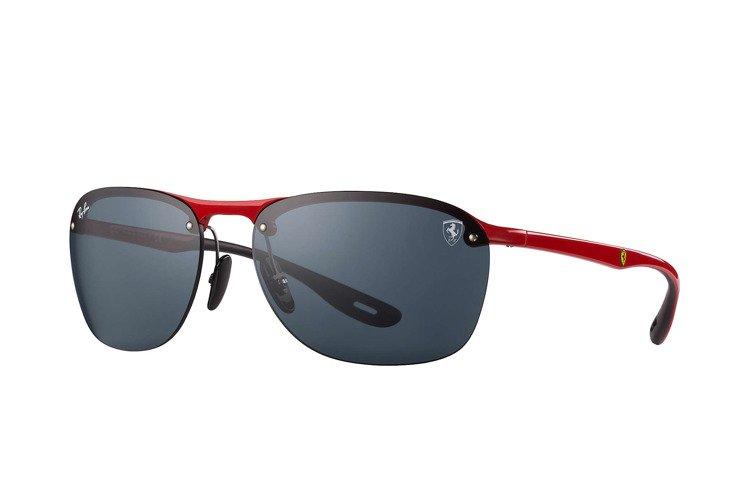 Oakley Jawbreaker Prizm >> Ray-Ban Okulary przeciwsłoneczne SCUDERIA FERRARI RB4302M-F62387   Optique.pl