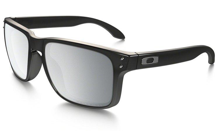 94eebcdac0 Oakley Sunglasses HOLBROOK Black Ink Chrome Iridium Polarised OO9102 ...