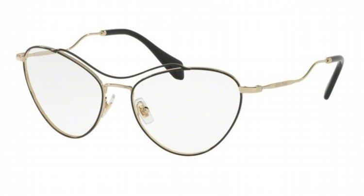 miu miu optical frame mu53pv 1ab1o1 - Miu Miu Glasses Frames