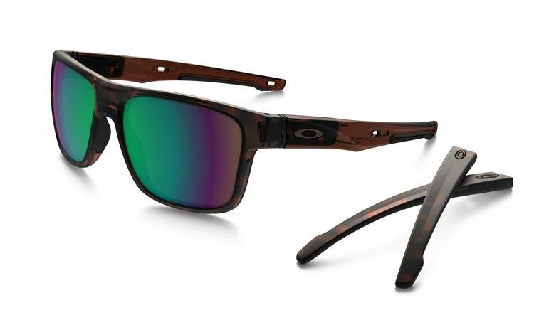 8d3edf24f9e5 ... Oakley Sunglasses CROSSRANGE Matte Rootbeer Tortoise   Prizm Shallow Water  Polarized OO9361-10 ...