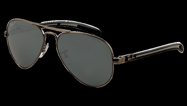 7f8e53ca0acc0 Ray-Ban Sunglasses polarized AVIATOR CARBON FIBRE RB8307 - 004 N8 ...