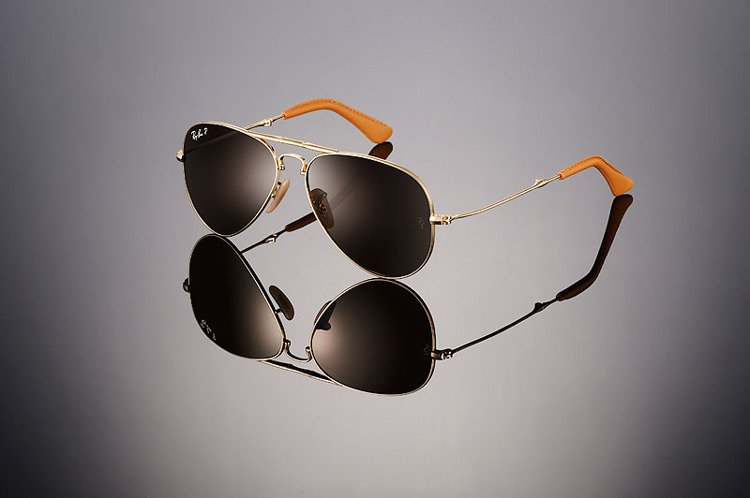 0d2d72d878a Ray-Ban Sunglasses plated with 18k gold Polarized AVIATOR Ultra Folding  RB3479KQ - 001 M7