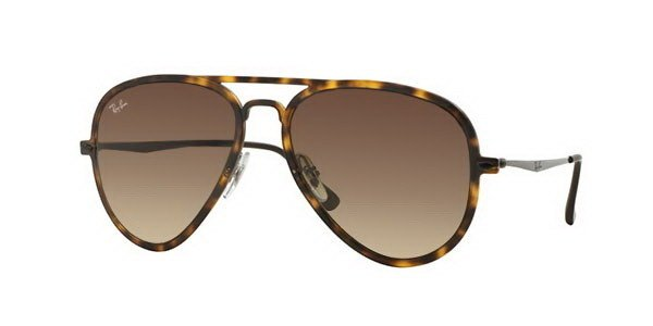 3183f174f45 Ray-Ban Sunglasses AVIATOR LIGHT RAY II RB4211 - 894 13