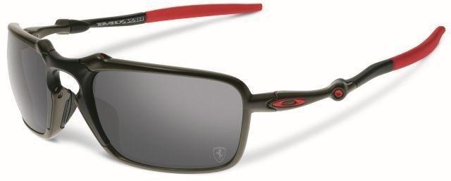 3bb1240e3b1 Oakley Sunglasses BADMAN FERRARI COLLECTION Dark Carbon Black Iridium  Polarized OO6020-07