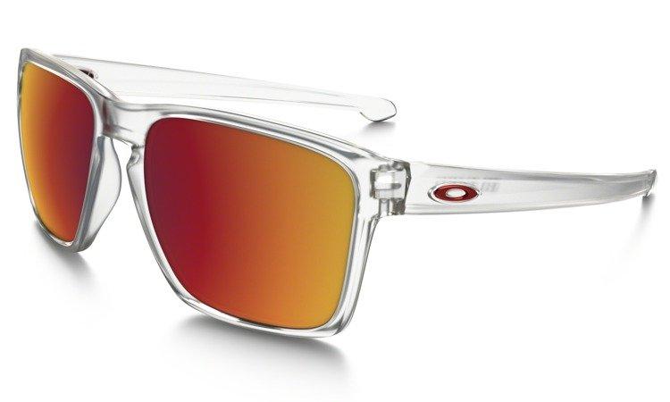 7e1927a8ab Oakley Sunglasses SLIVER XL Matte Clear   Torch Iridium OO9341-09 ...