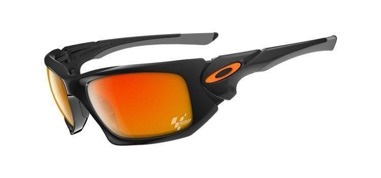 2ccf03f638 Oakley Sunglasses SCALPEL MOTOGP Polished Black Fire Iridium OO9095 ...