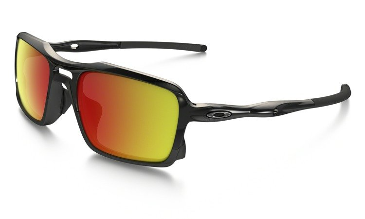27c1ec730f Oakley Sunglasses TRIGGERMAN Polished Black Ruby Iridium OO9266-03 ...