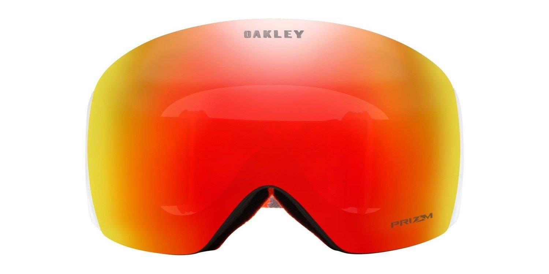 6fb4126b04 ... Oakley Goggles Flight Deck Arctic Fracture Orange   Prizm Snow Torch  Iridium OO7050-62 ...