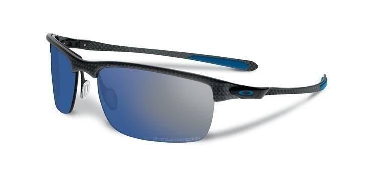 1ffdeaf562 Oakley Sunglasses POLARIZED CARBON BLADE Matte Carbon Ice Iridium Polarized  OO9174-05