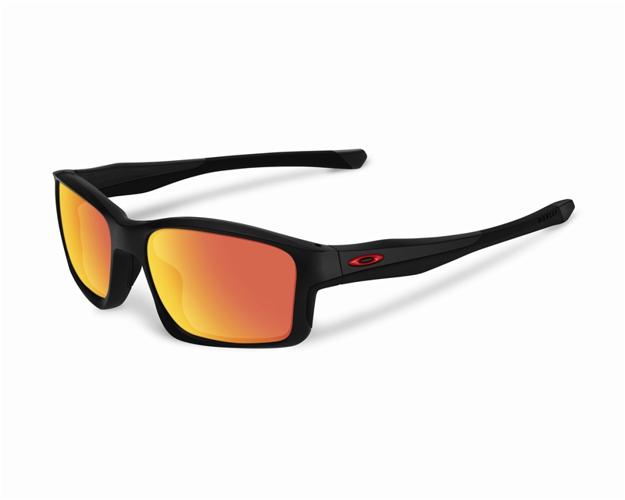 57820fc5813 Oakley Sunglasses CHAINLINK Matte Black Ruby Iridium POLARIZED OO9247-11