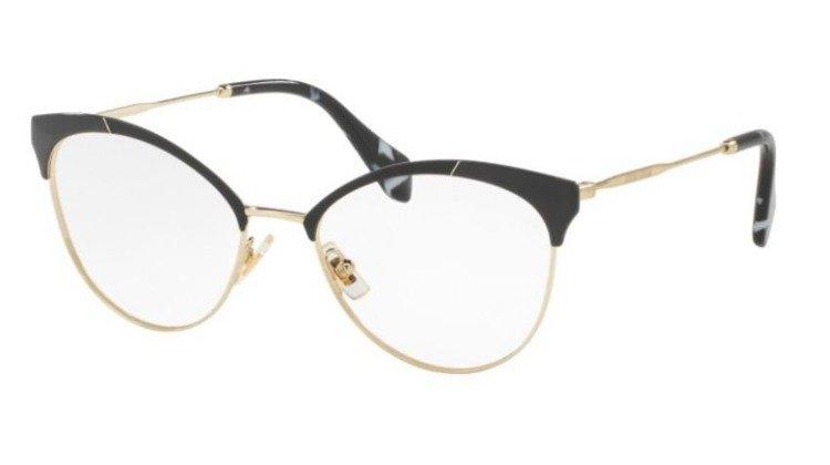 miu miu optical frame mu50pv 1ab1o1 - Miu Miu Glasses Frames