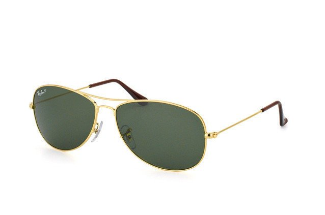 02b6352bcf Ray-Ban Sunglasses polarized COCKPIT RB3362 - 001 58