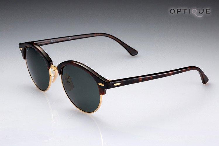 ec182acf49 Ray-Ban Sunglasses CLUBROUND RB4246 - 990 ...