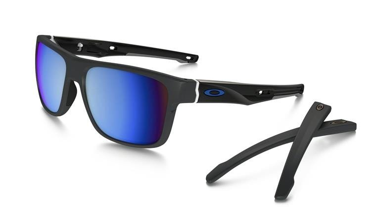 0e855b550f Oakley Sunglasses CROSSRANGE Matte Dark Gray   Prizm Deep Water Polarized  OO9361-09