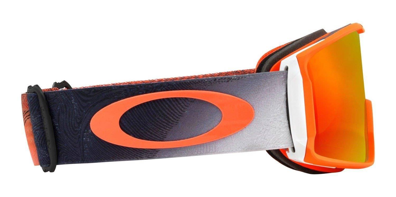 3de14b231a8 Oakley Goggles Line Miner Mystic Flow Neon Orange   Prizm Snow Torch Iridium  OO7070-37