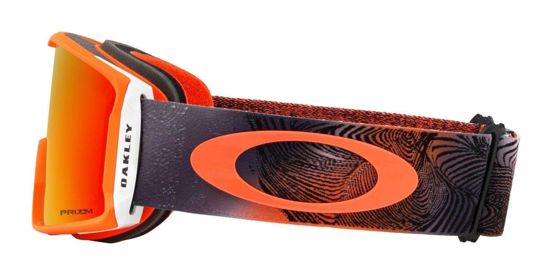 8d8e97d4d21 ... Oakley Goggles Line Miner Mystic Flow Neon Orange   Prizm Snow Torch  Iridium OO7070-37 ...