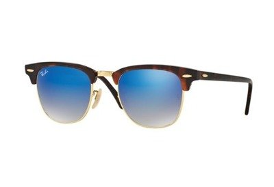 Ray-Ban Okulary CLUBMASTER RB3016 - 990/7Q