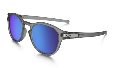 8ffecb1a6f Oakley Sunglasses LATCH Matte Grey Ink Sapphire Iridium Polarized OO9265-08