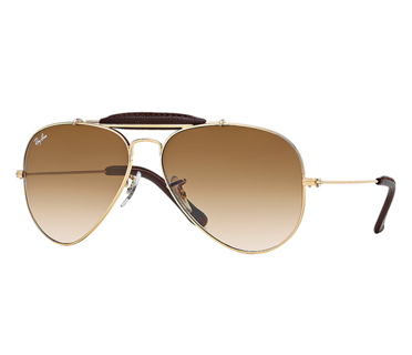 Ray-Ban Okulary AVIATOR OUTDOORSMAN CRAFT RB3422Q - 001/51