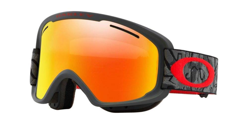 Oakley Gogle O Frame 2.0 XM Camo Vine Night / Fire Iridium & Persimmon OO7066-49