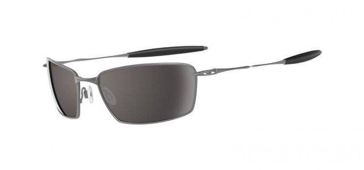 Oakley Sunglasses SQUARE WHISKER Polished Chrome/Warm Grey 05-768