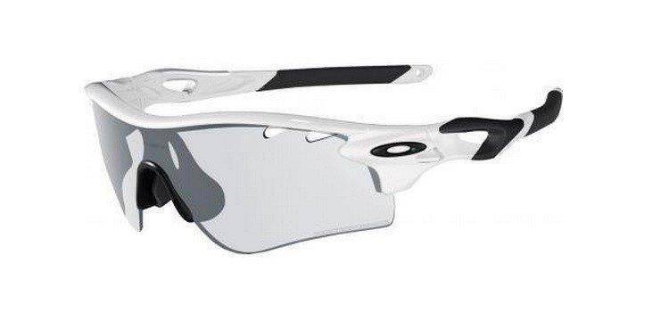 801ac462198 Oakley Sunglasses RADARLOCK PATH PHOTOCHROMIC Matte White Clear Black  Photochromic OO9181-37