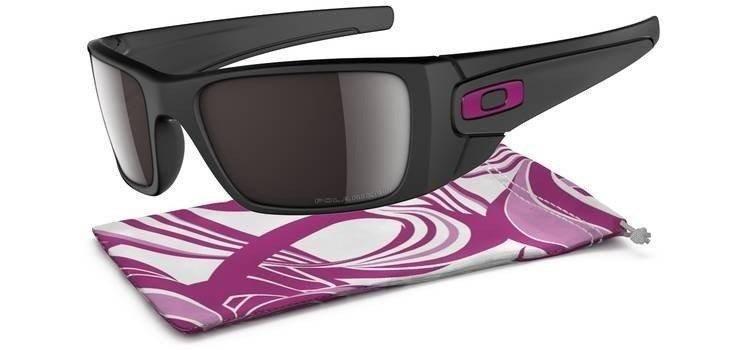 3f970504a7f Oakley Sunglasses FUEL CELL BREAST CANCER AWARENESS EDITION Matte Black OO Black  Iridium Polarized OO9096-80