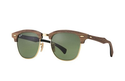 Ray-Ban Okulary CLUBMASTER WOOD RB3016M - 11824E