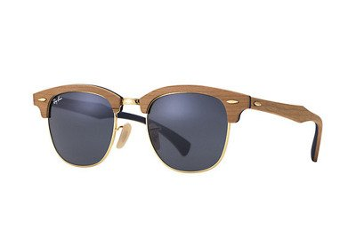 Ray-Ban Okulary CLUBMASTER WOOD RB3016M - 1180R5