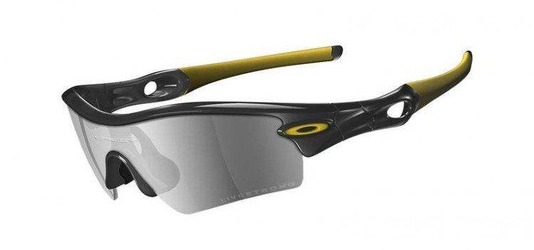 Oakley LIVESTRONG RADAR PATH Jet Black/Black Iridium 12-763