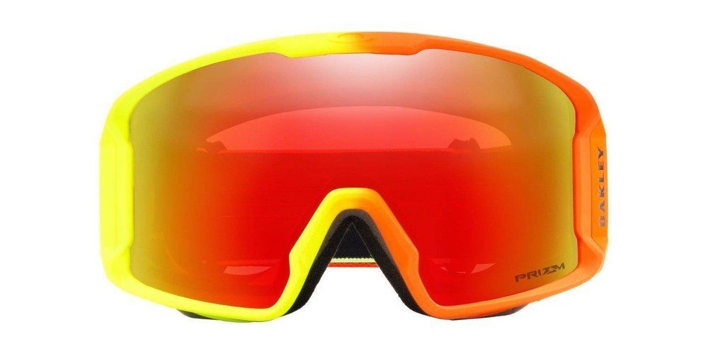 Oakley Gogle Line Miner 2018 Team Oakley / Prizm Snow Torch Iridium OO7070-35