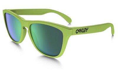 5847be6be88b28 Oakley Sunglasses Frogskins Matte Fern Jade Iridium Polarised OO9013-14    Optique.pl