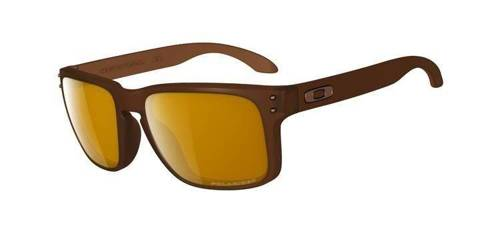 Oakley Sunglasses  HOLBROOK Matte Rootbeer/Bronze Polarized OO9102-03