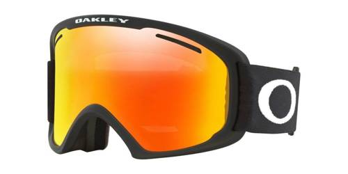 Oakley Gogle O Frame 2.0 XL Matte Black / Fire Iridium & Persimmon OO7045-45 - small1
