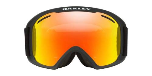 Oakley Gogle O Frame 2.0 XL Matte Black / Fire Iridium & Persimmon OO7045-45 - small3