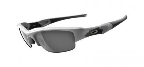 Oakley Sunglasses  FLAK JACKET Polished White/Black Iridium 03-882