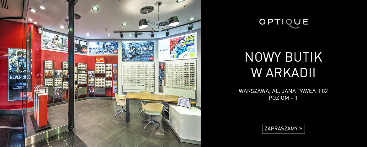 Butik Optique Arkadia / Butik Optik w Arkadii