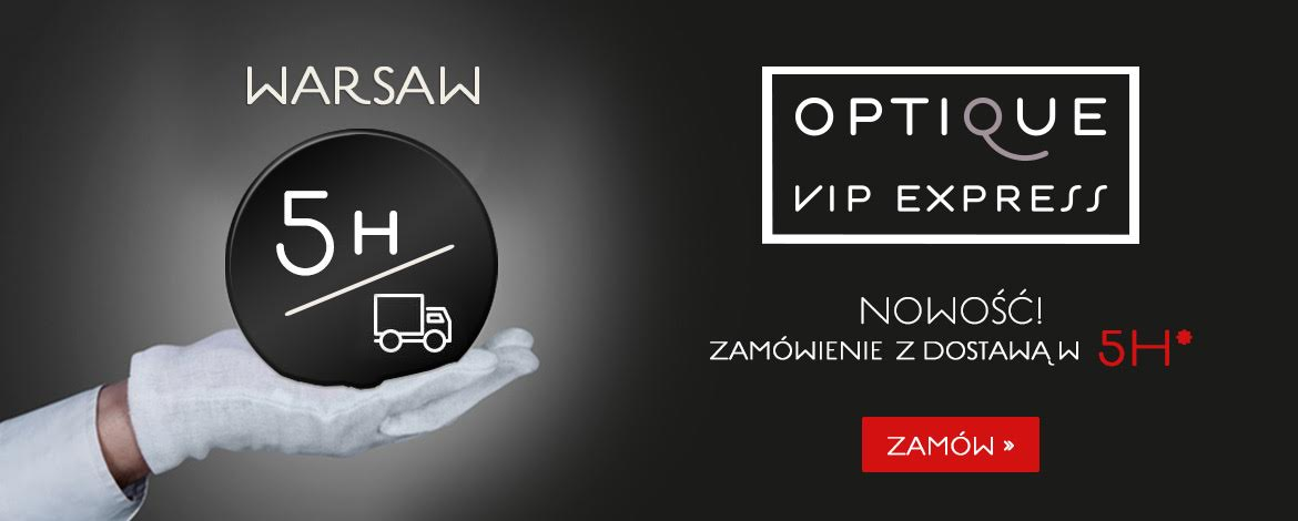 Vip Express w Optique - dostawa w 5h