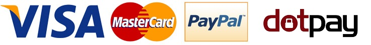 Metody Płatności w Optique - Visa / Mastercard / PayPal / DotPay