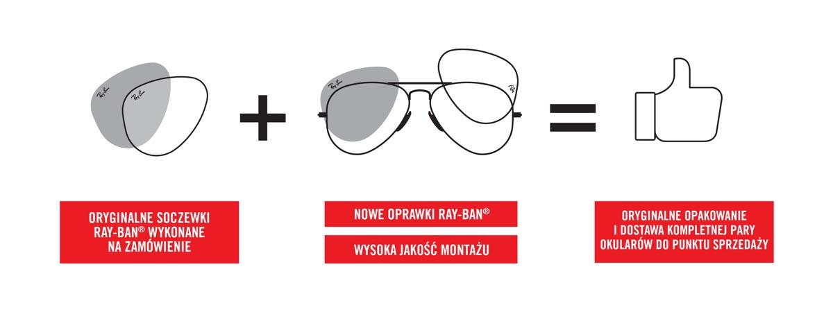 baf9283d290e32 Prescription glasses with original Ray-Ban lenses